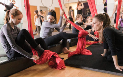 Aerial Arts Classes for Everyone: What to Expect in Your First Class