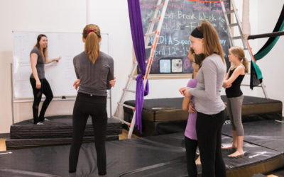8 Tips from Kelsey for the Beginning of Your Aerial Journey